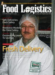 September 2010 Issue of Food Logistics Magazine
