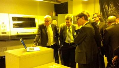 German Foreign Minister Frank-Walter Steinmeier visited GTMI and faculty of the Industrial and Systems Engineering (ISyE) department.