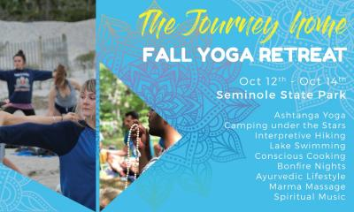 The Journey Home: Fall Yoga Retreat