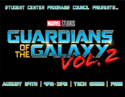 Guardian's of the Galaxy Marketing