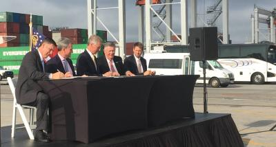 Georgia Ports Authority Hosts MOU Signing in Savannah