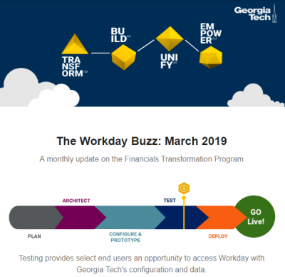 March Workday Buzz