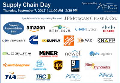 SCL September 2017 Supply Chain Day