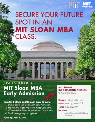 MIT Sloan Info Session