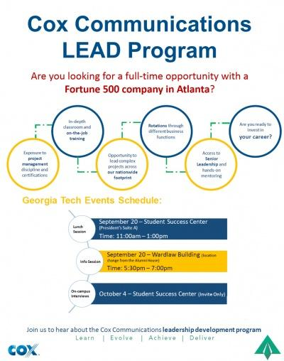 Cox Communications LEAD Program