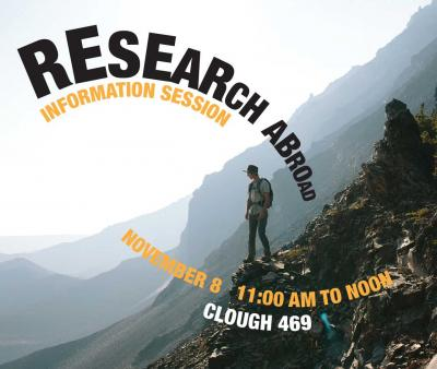 Research Abroad Info Session