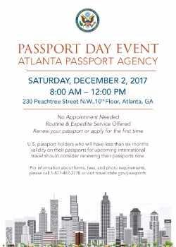 Atlanta Passport Day and Outreach
