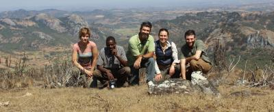 Jack Davis and group in Malawi