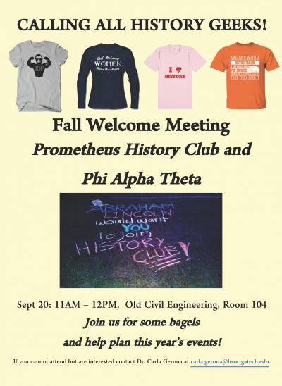Prometheus history club