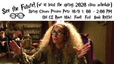 HSOC Spring Preview Party (NOTE DATE CHANGE)