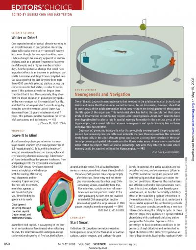Bellamkonda Article Published in Science Magazine