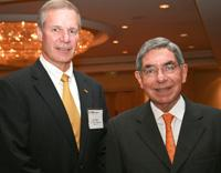 G.P. Peterson and Oscar Arias