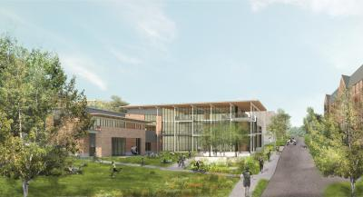 West Campus Dining Rendering