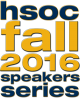 HSOC Fall 2016 Speakers Series logo