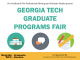 Georgia Tech Graduate and Professional School Fair