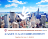 Advertisement for summer 2019 human rights institute at Fordham University