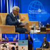 Keynote Speaker Jagan Chapagain (IFRC); Panel on Technology Innovation in Health Systems; Dr. Maha Barakat (Abu Dhabi Health Authority); Dr. Georges Ki-Zerbo, (WHO African Region)
