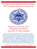 Information for the 2019 Phi Alpha Theta regional conference