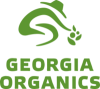 Logo of a person farming.
