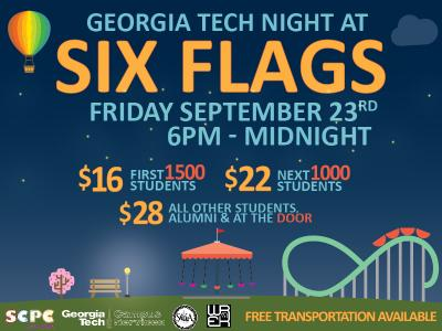 GT Night at Six Flags 2016