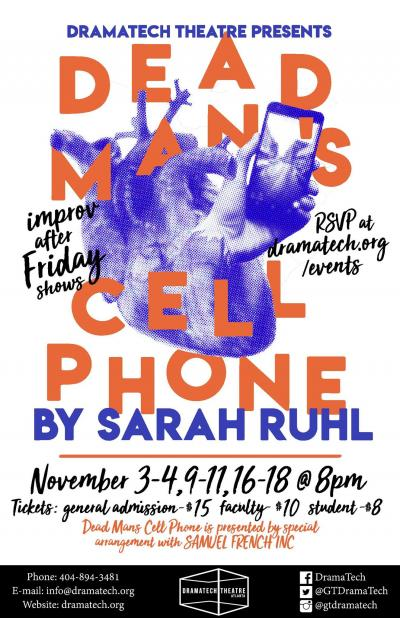 Dead Man's Cell Phone Poster