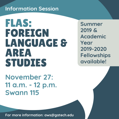 FLAS: Foreign Language Area Studies