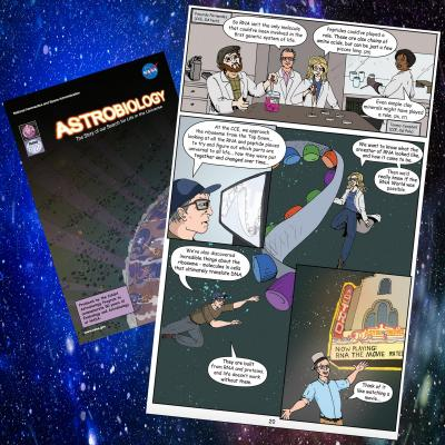 NASA comic book