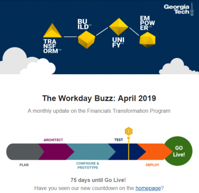 Workday Buzz - April 2019