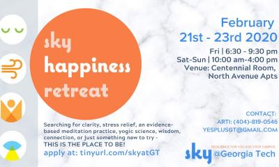 SKY Happiness Retreat Spring 2020