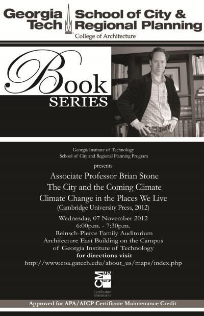 Brian Stone Book Lecture Poster