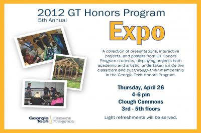 2012 GT Honors Program Expo