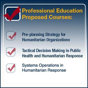 Humanitarian Logistics Professional Certificate Program