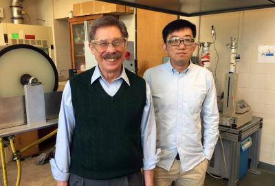 Membrane scientists Koros and Zhang