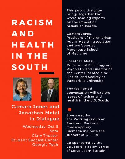 Racism and Health in the South flyer