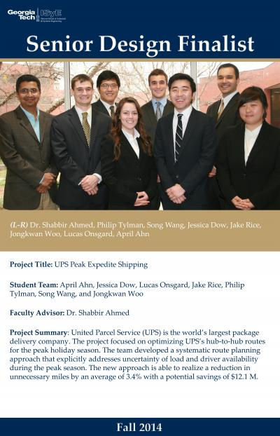 ISyE UPS Senior Design Team