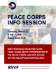Peace Corps Info Session 3/12