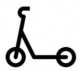 Dockless Scooter Icon