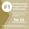 ISyE's undergraduate program ranked #1