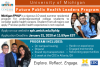 Advertisement for the Michigan Future Public Health Leaders Program.