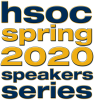 Logo for the HSOC Spring 2020 speakers series