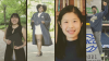 Photos of four graduates in the School of Economics: Sarah Tinsley, Aiyanna Lowrey, Tongyang Yang, and Maxwell Goldstein