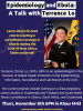 Informational flyer for Epidemiology and Ebola: A talk with Terrence Lo