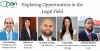 Exploring Opportunities in the legal field panel
