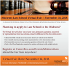 Information for the Midwest Law School fair on November 24, 2018.