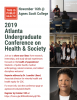 Flyer for the 2019 Atlanta Undergraduate Conference on Health and Society