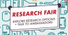 Screenshot of the logo for the Undergraduate Research fair.