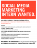 Job posting for a social media intern with the Ivan Allen College Deans Office