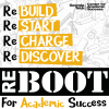 Logo for the Center for Academic Success ReBoot program