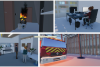 Images taken from virtual building crisis simulation in SIReN Lab